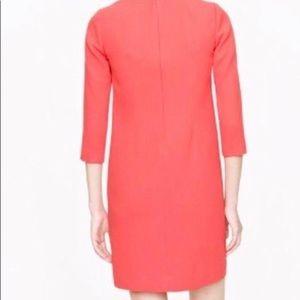 J. Crew Dresses - J Crew Guava Wool Crepe Dress